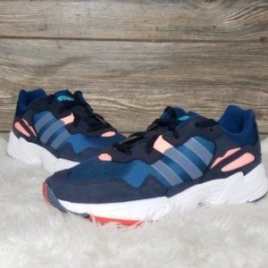New Adidas Yung 96 Blue Chunky Sneakers